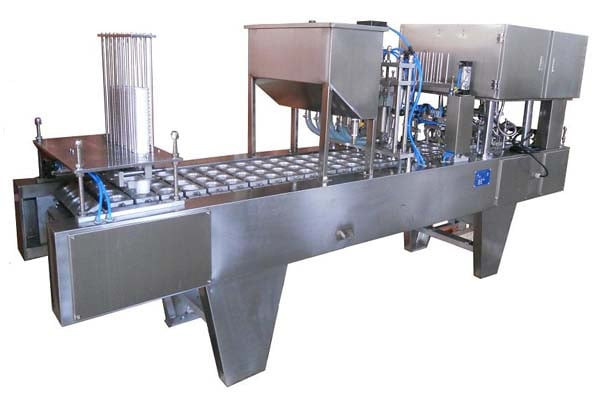 QP-2 Automatic Cup Filling And Sealing Machine